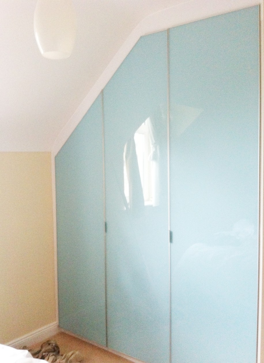Bi Folding Door Wardrobes Slideglide Sliding Wardrobes And Intended For Folding Door Wardrobes (View 16 of 25)