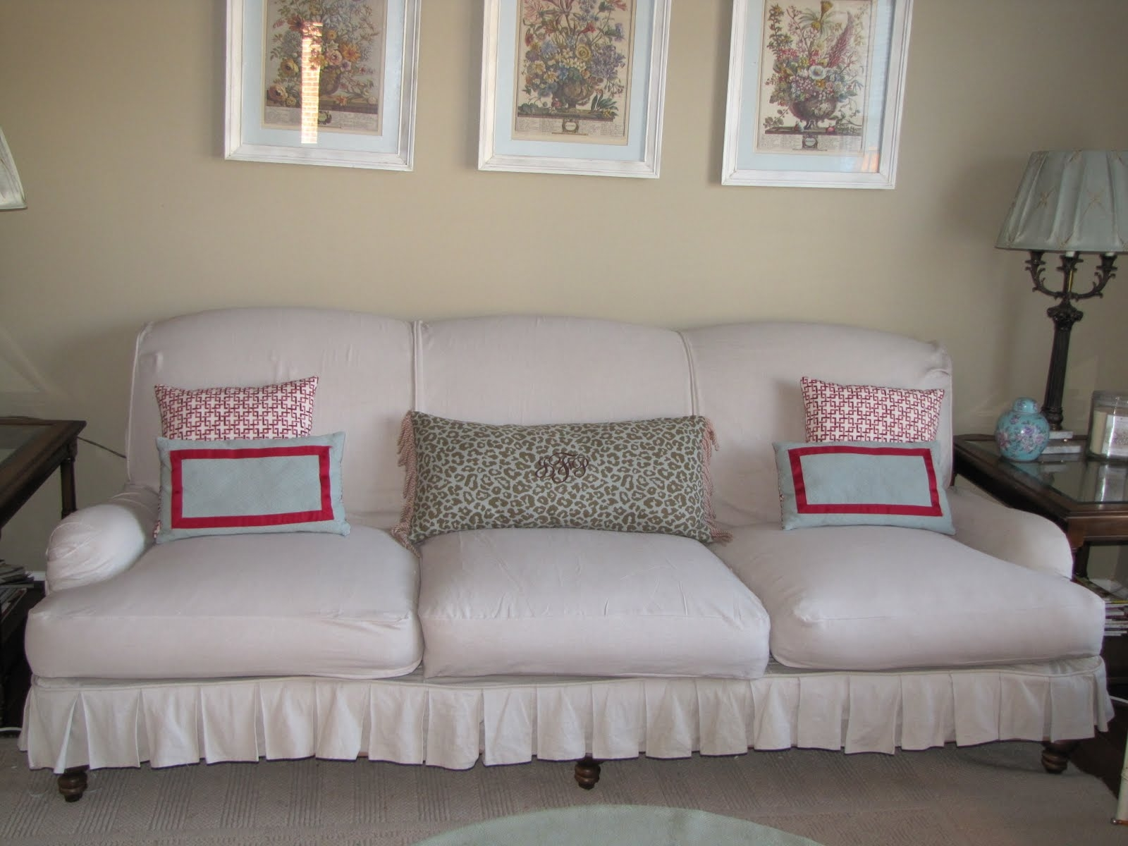 Bibbidi Bobbidi Beautiful How To Slipcover Sofas And Chairs Throughout Slipcovers For Sofas And Chairs (Image 1 of 15)
