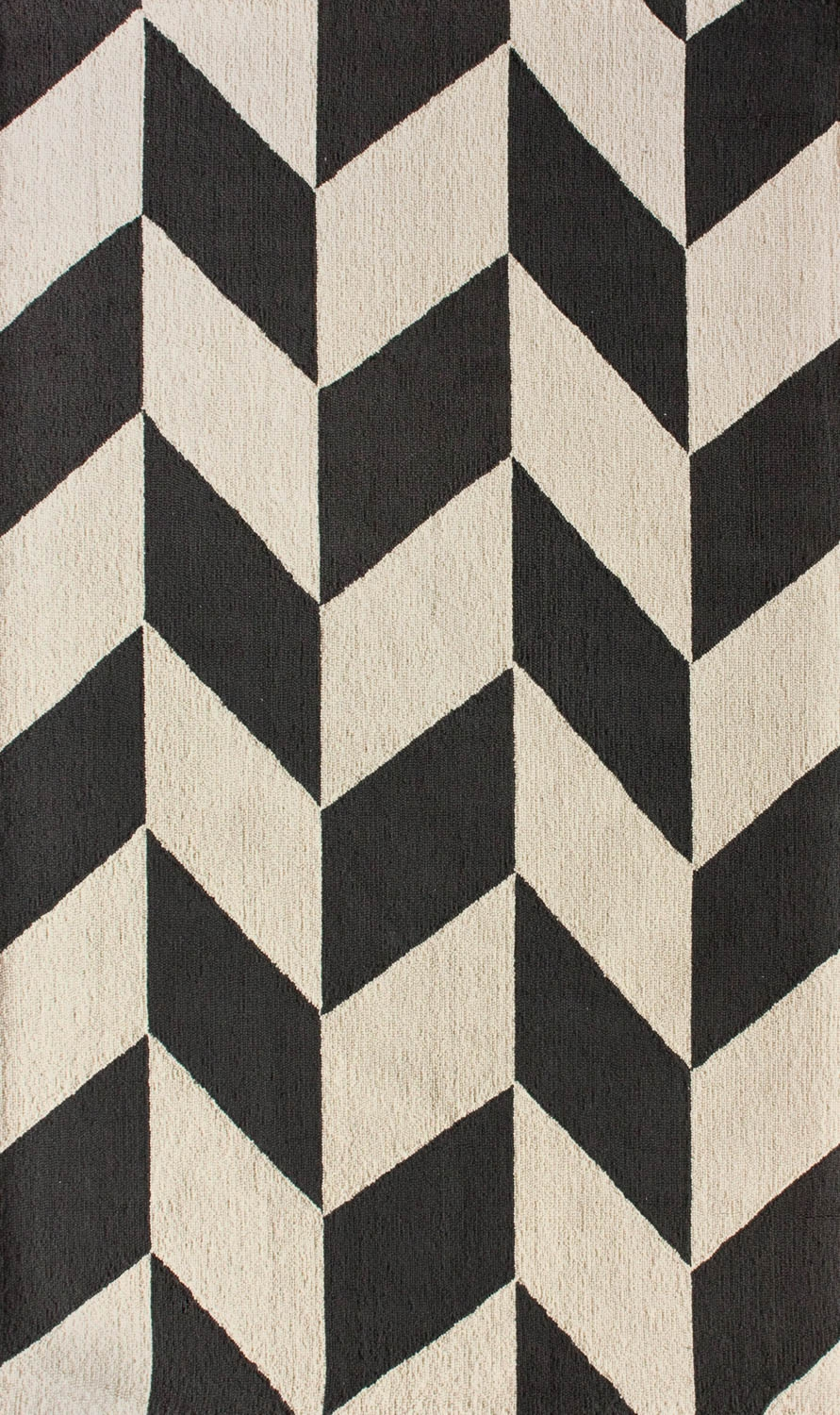 Black And Cream Chevron Rug Roselawnlutheran In Cream And Black Carpets (Image 1 of 15)