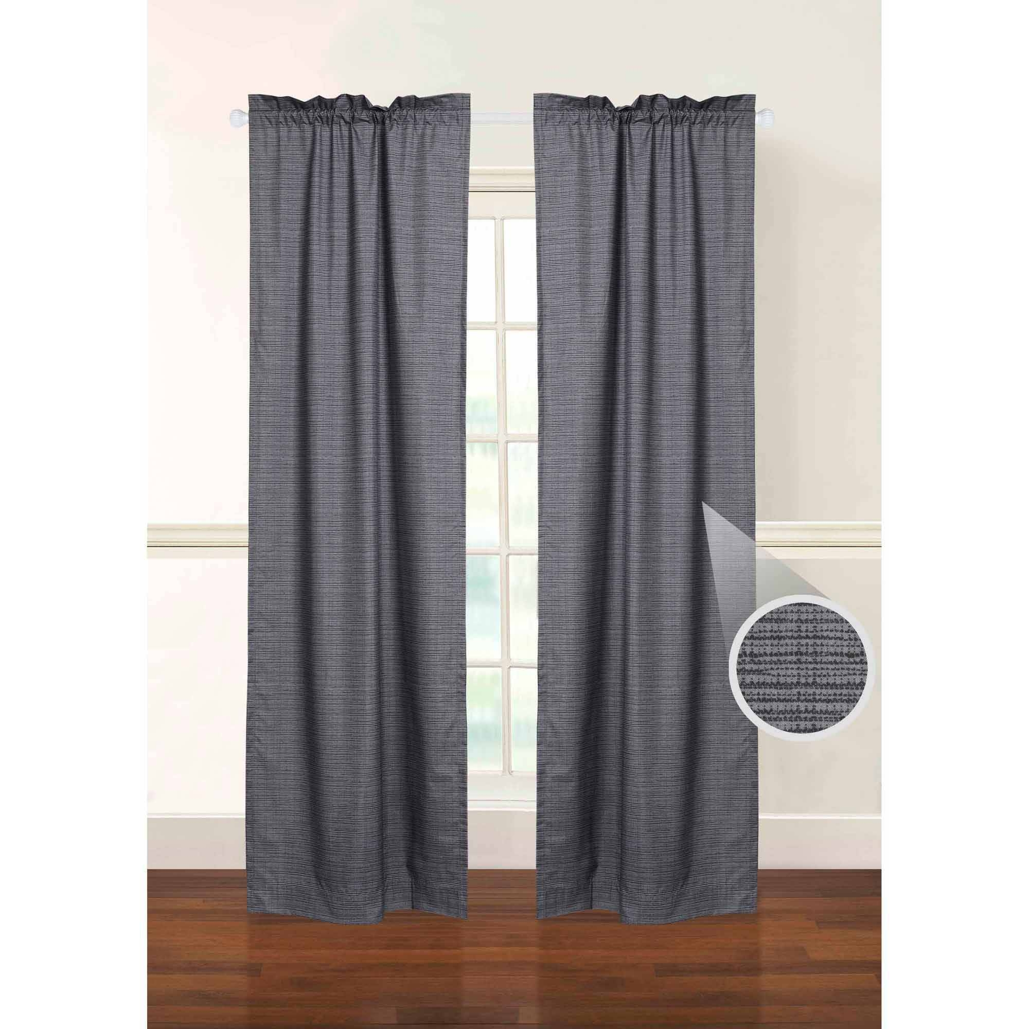 Featured Image of Patterned Blackout Curtains