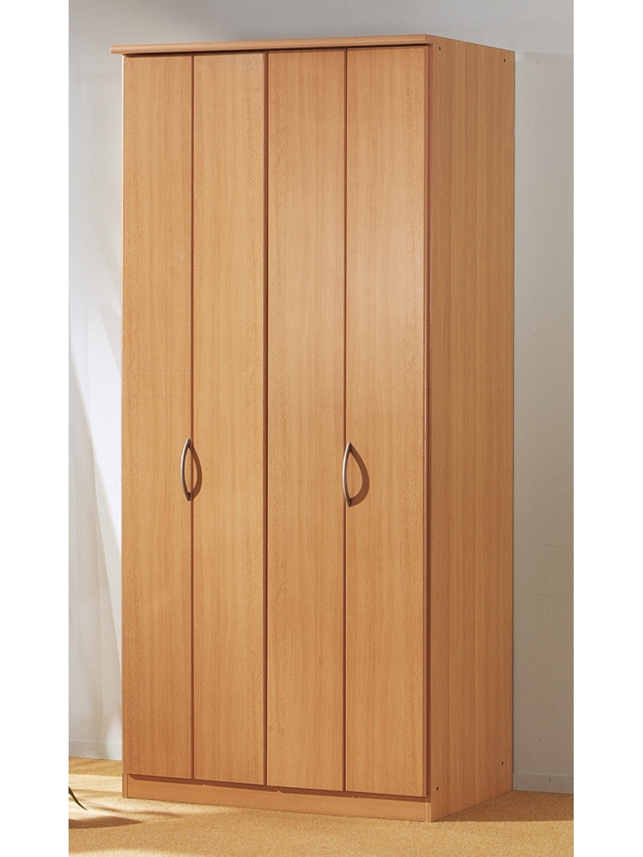 Blitz 2 Door Bi Folding Door Wardrobe Rauch Furniture In Folding Door Wardrobes (View 6 of 25)