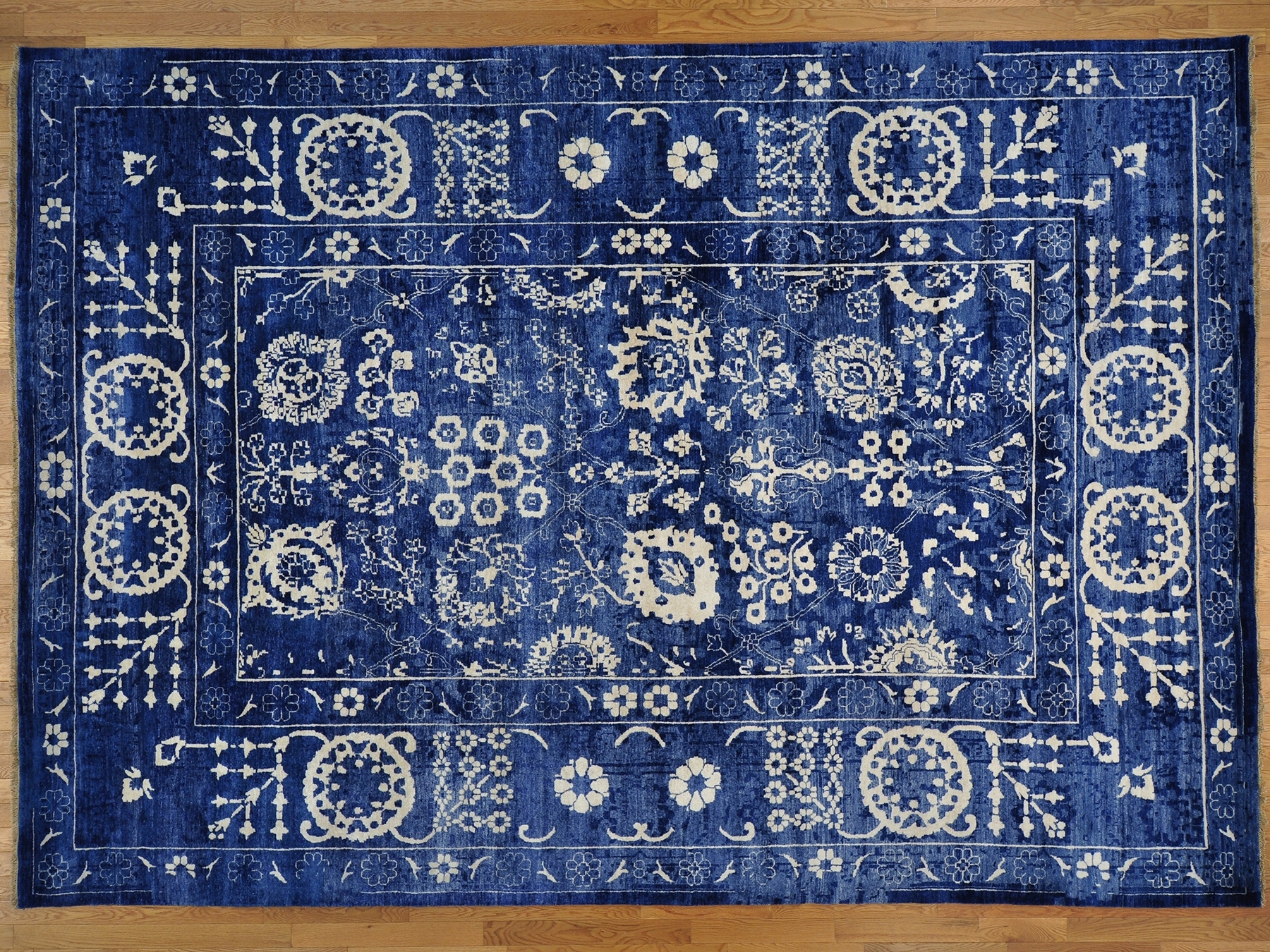 Blue Oriental Rugs Roselawnlutheran With Regard To Blue Persian Rugs (Image 5 of 15)