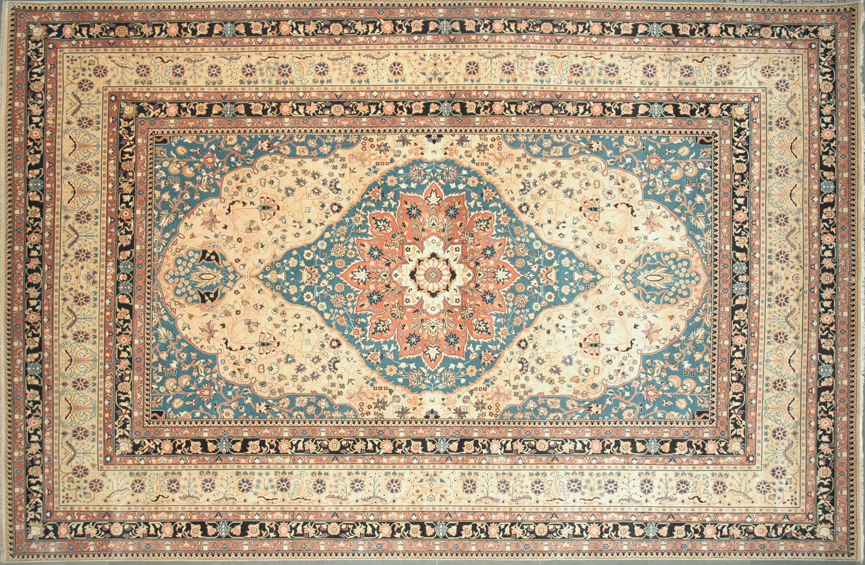 Blue Persian Rug Design Ideas Decor Regarding Blue Persian Rugs (Image 8 of 15)