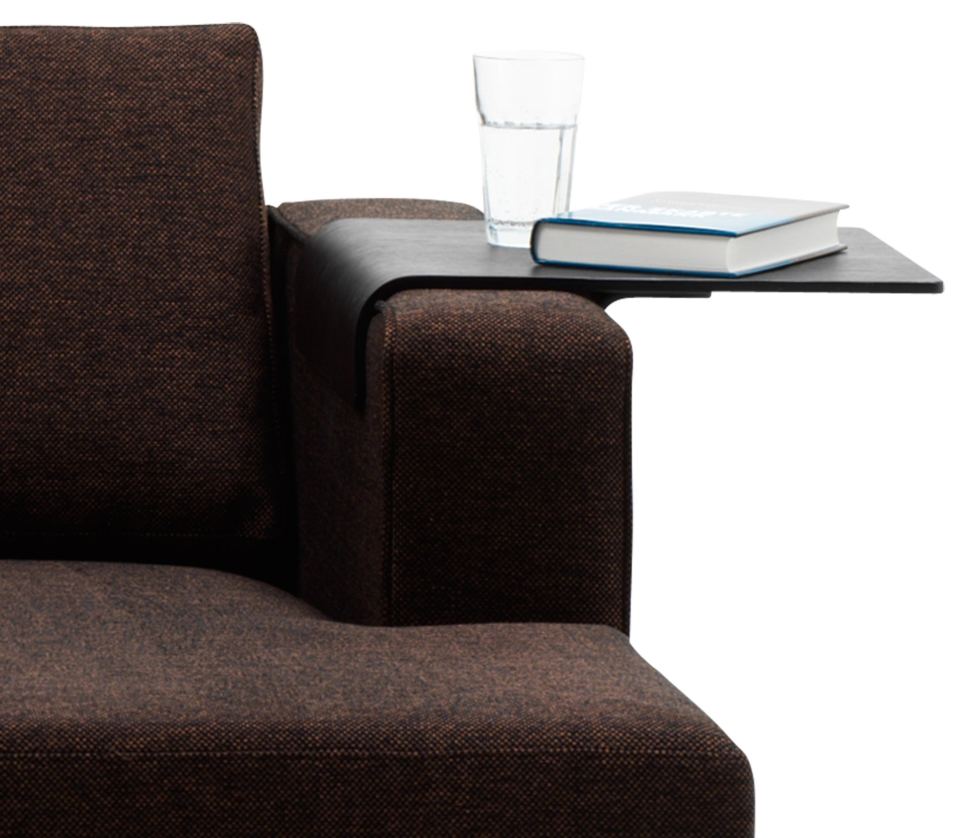 Boconcept Tray Black Stained Oak Veneer In Sofa Accessories With Sofa Accessories (Image 4 of 15)
