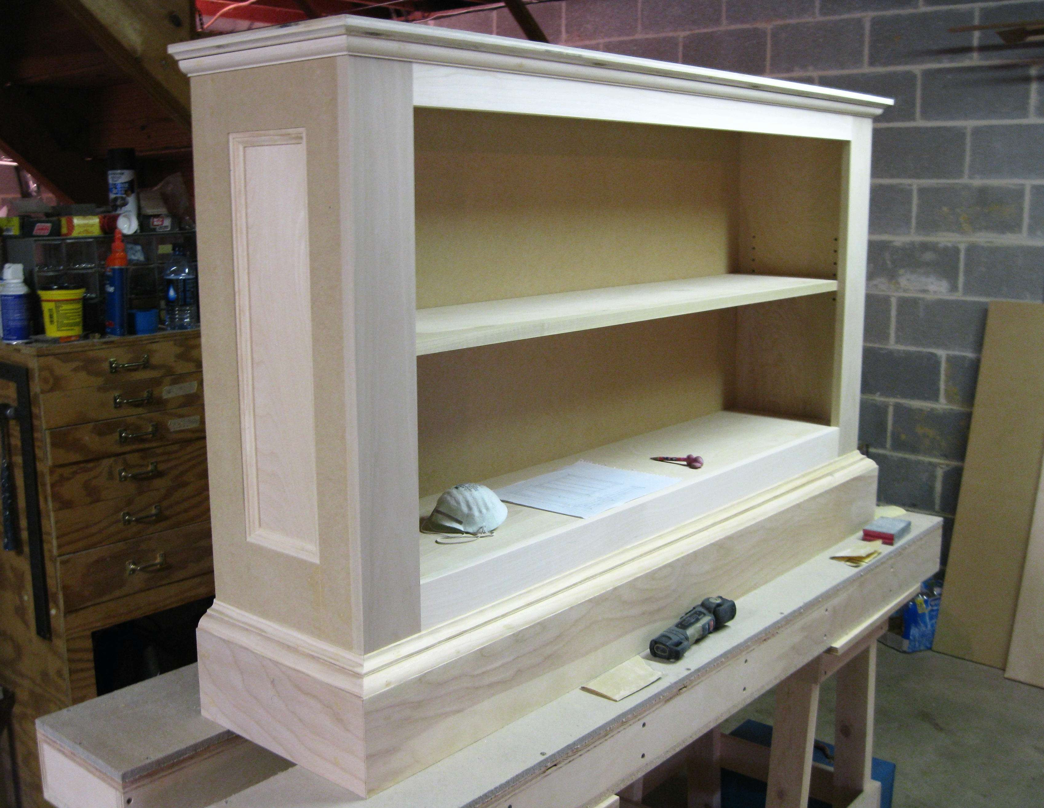 Bookcase Base Cabinet Jeff Branch Woodworking For Bookcase With Cabinet Base (View 6 of 15)