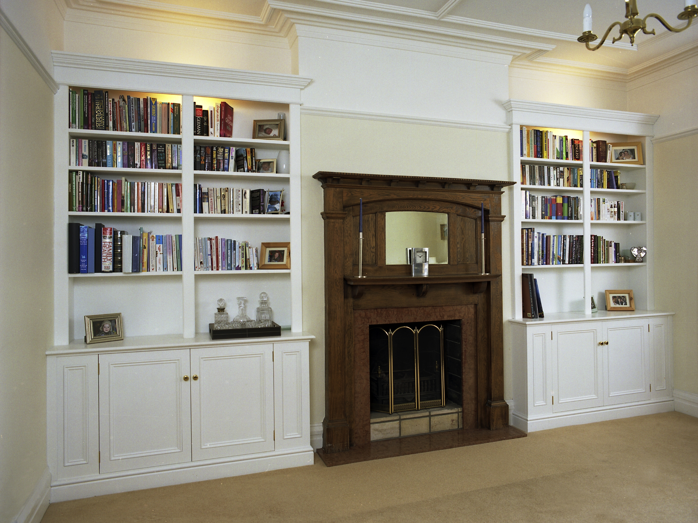 Bookcases And Cupboards For A 1930s House Period Alcoves Intended For Bookcases With Cupboards (View 12 of 15)