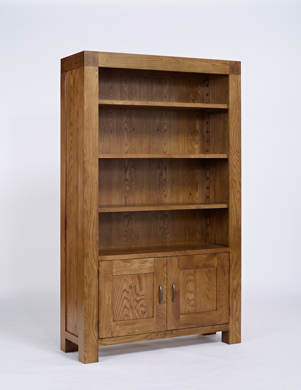 Bookcases Cabinets Buy Oak Pine Walnut Online With Bookcases With Cupboards (View 14 of 15)