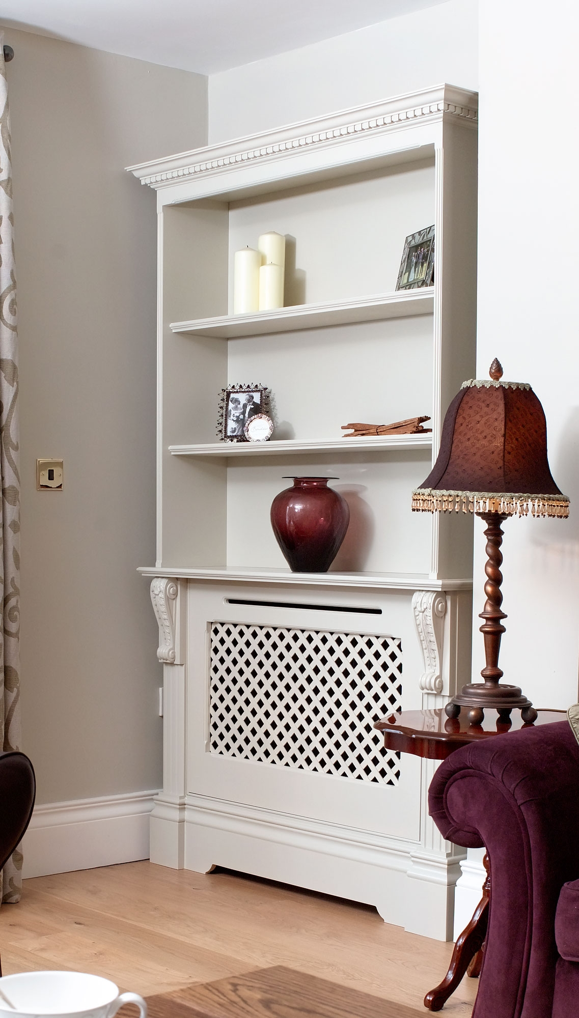 Featured Image of Radiator Cabinet Bookcase