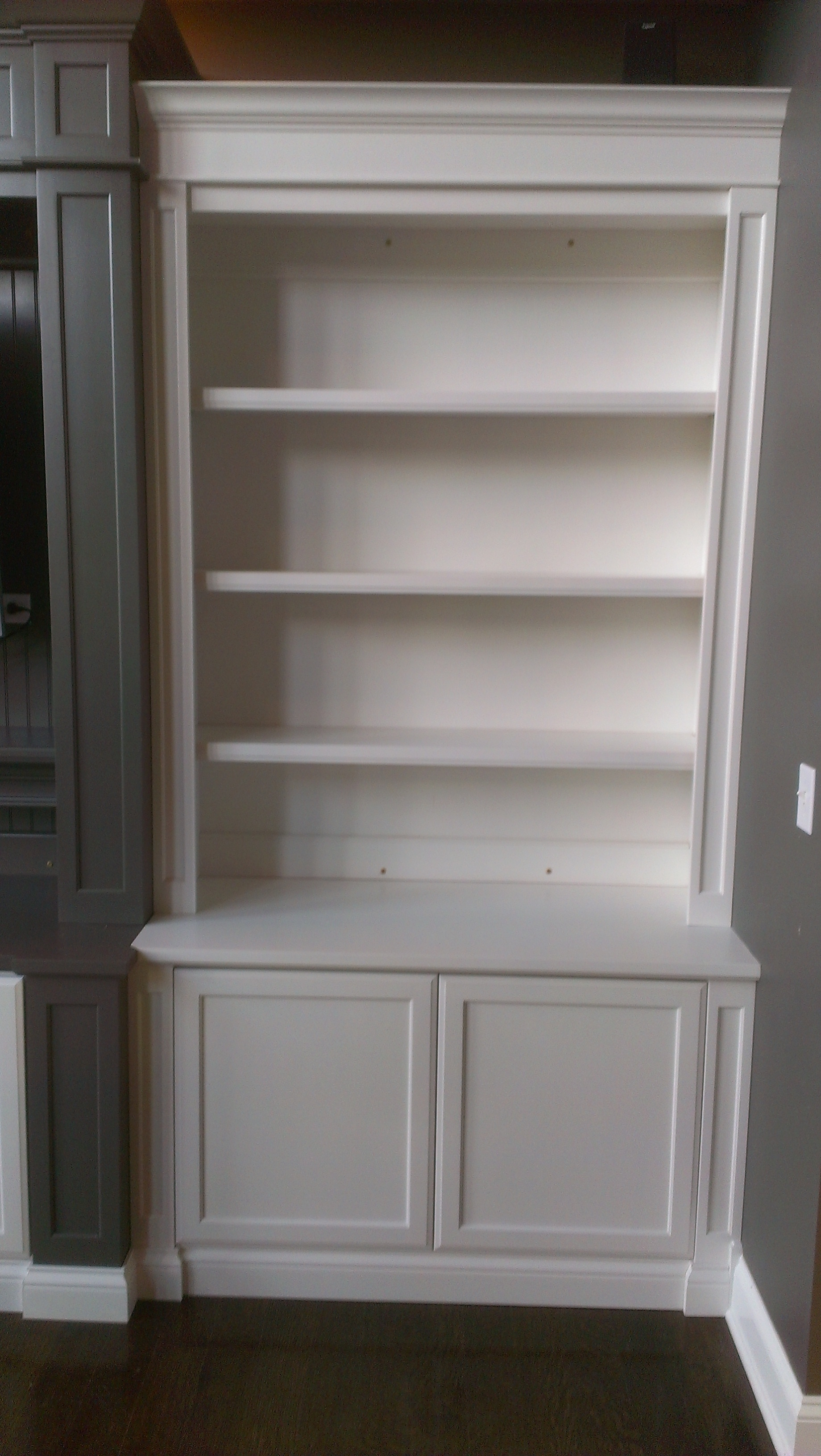 Featured Image of Bookshelf With Cabinet Base