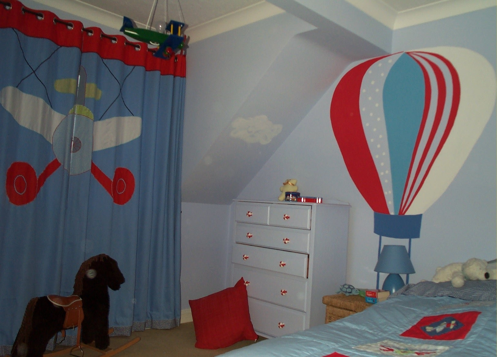 Boys Bedroom Casual Bedroom Interior Design Ideas With Blue For Blue Curtains For Boys Room (Image 8 of 25)