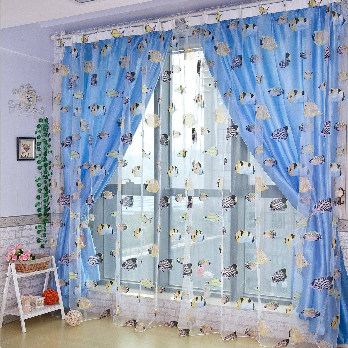 Boys Bedroom Creative Bedroom Interior Design Ideas With Blue Throughout Blue Curtains For Boys Room (Image 11 of 25)