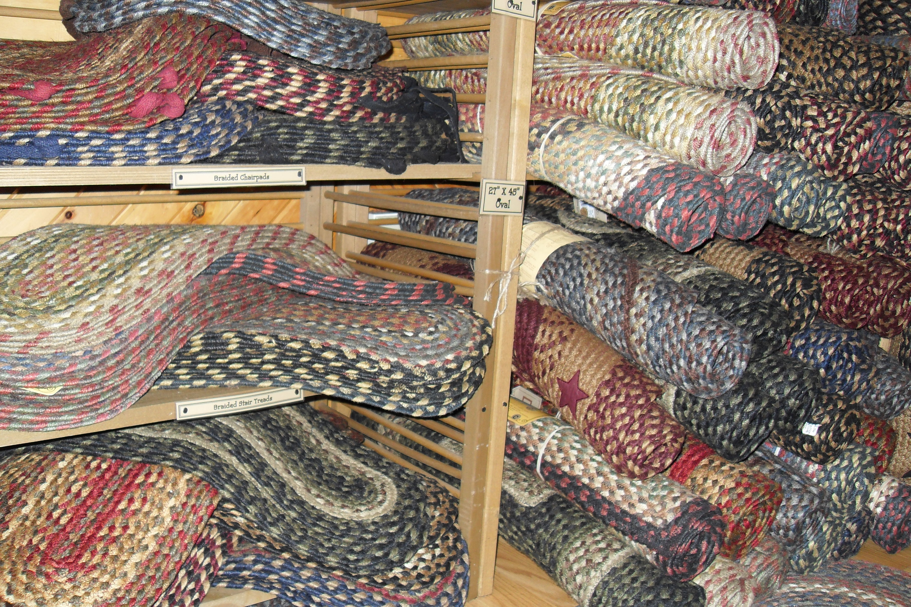 Braided Stair Tread Rugs Roselawnlutheran Throughout Stair Treads And Rugs (Image 2 of 15)