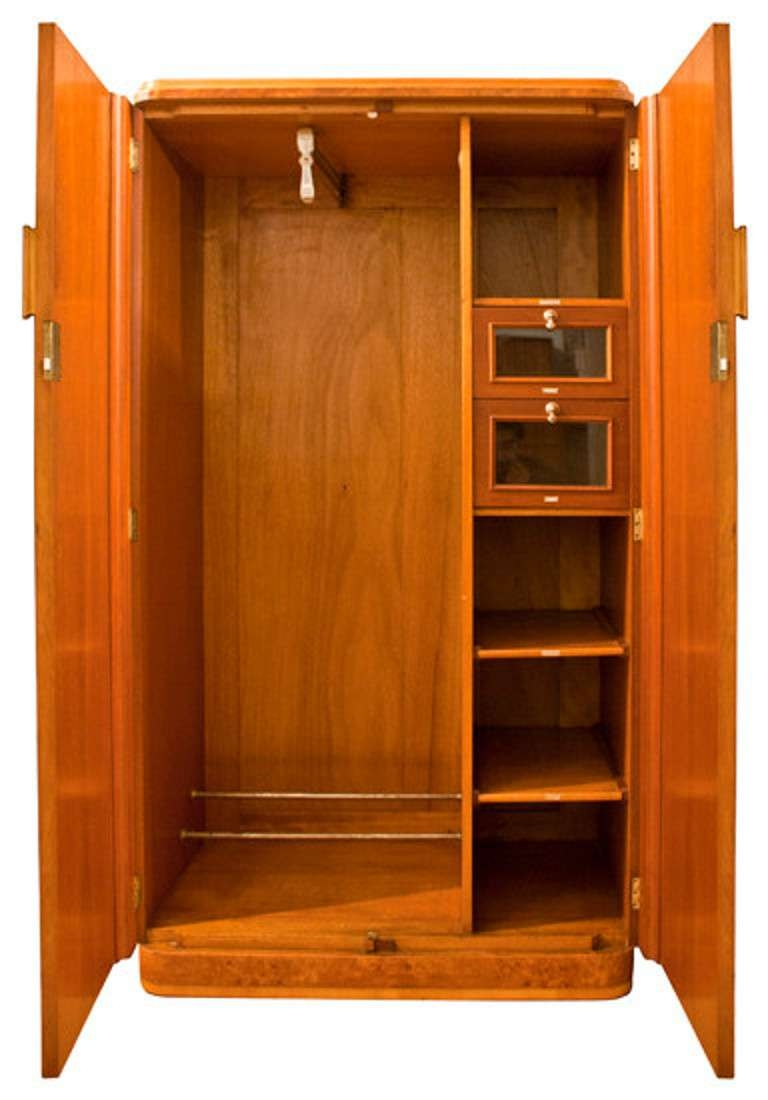 Bright Solid Wood Wardrobe Closet 36 Solid Wood Wardrobe Closet With Solid Wood Wardrobe Closets (Image 6 of 25)