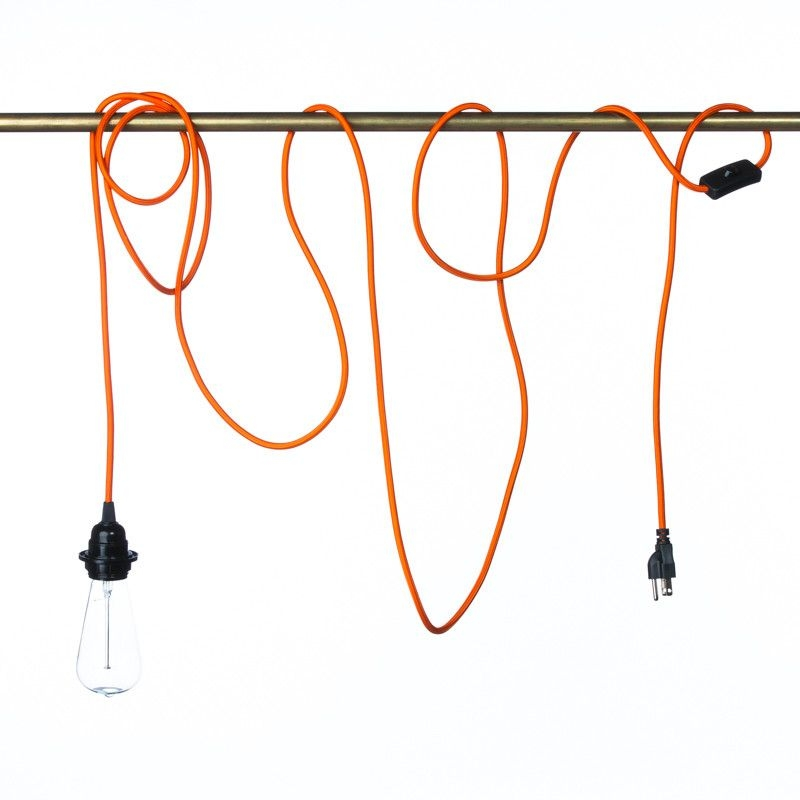 Brilliant Best Coloured Pendant Cord With Inspirational Coloured Cord Pendant Lights 82 For Your Convert A (Image 5 of 25)
