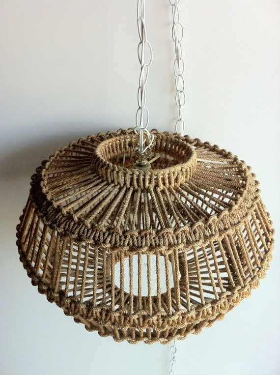 Brilliant Best Macrame Pendant Lights With 17 Best Macrame Lamp Images On Pinterest (Image 6 of 25)