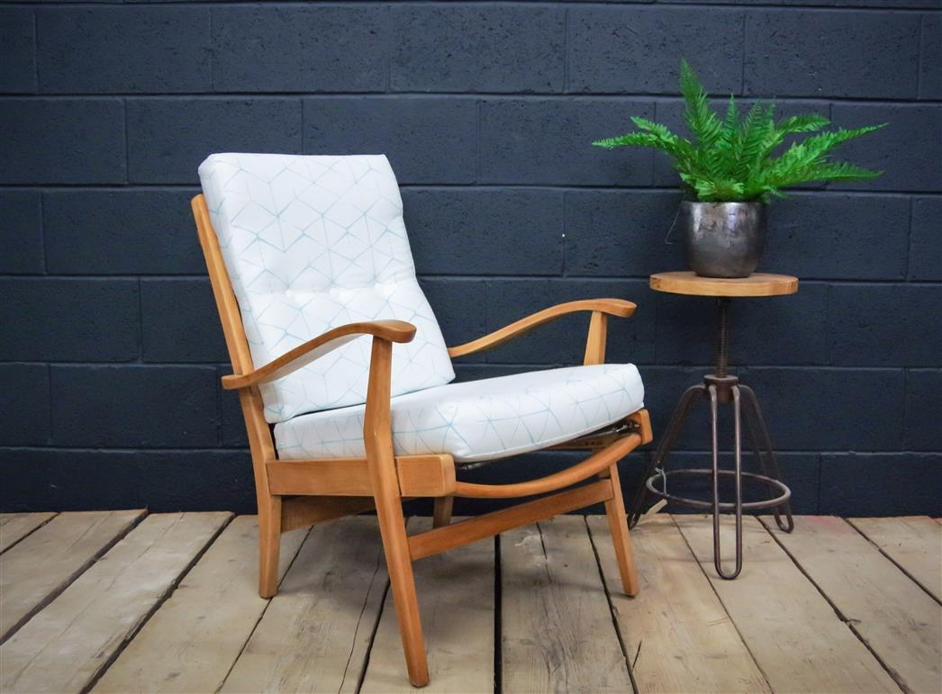 Brilliant Best Vintage Cintique Armchair With Pair Of Vintage Cintique Chairs Vinterior (View 13 of 15)