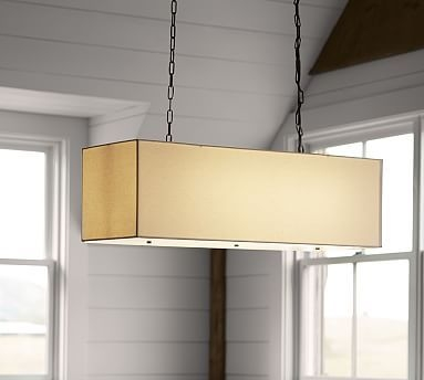Featured Image of Rectangular Drum Pendant Lights