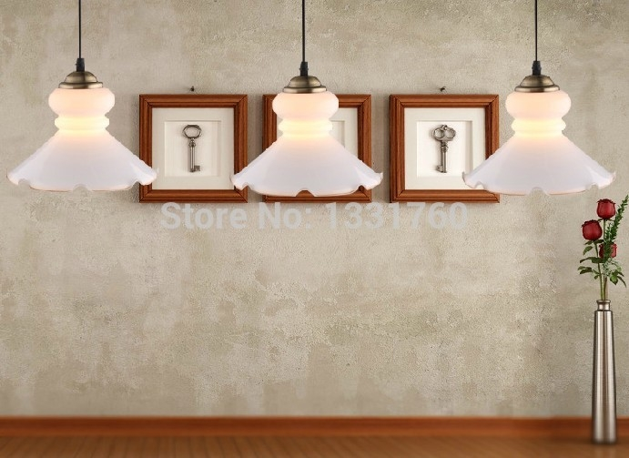 Brilliant Common Milk Glass Pendant Lights Throughout Popular Milk Glass Lamp Buy Cheap Milk Glass Lamp Lots From China (Image 4 of 25)