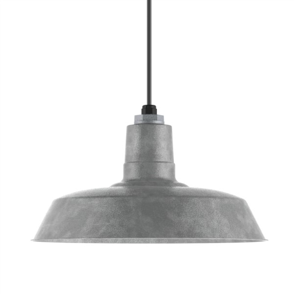 Brilliant Deluxe Barn Lights Within Original Warehouse Pendant Light Barn Light Electric (Image 3 of 25)