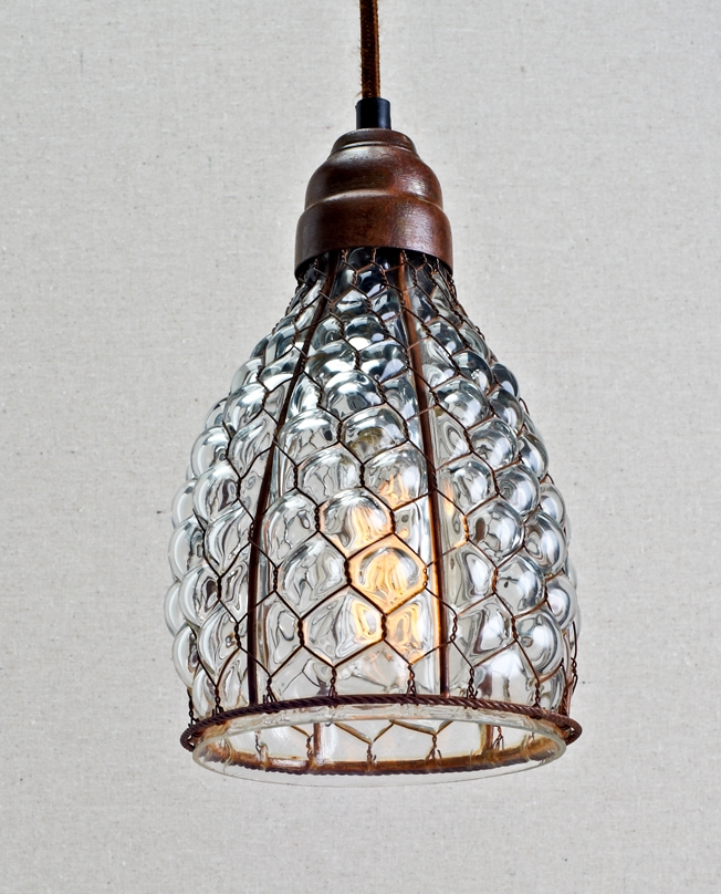 Featured Image of Wire And Glass Pendant Lights