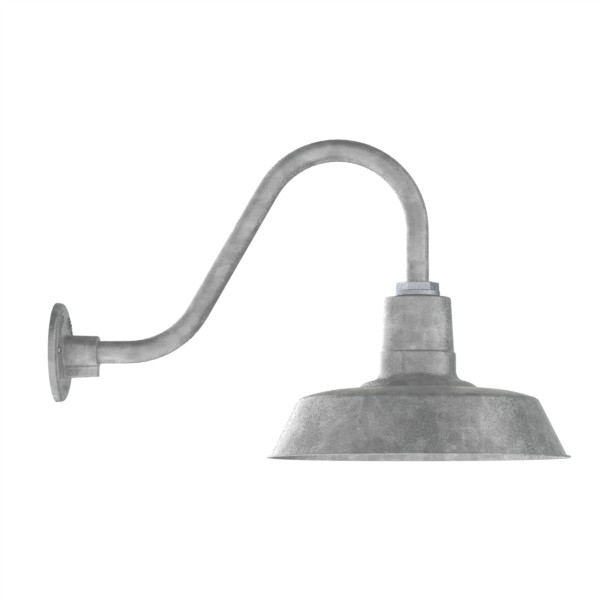 Brilliant Fashionable Barn Lights Intended For Original Barn Light Gooseneck Light Barn Light Electric (Image 4 of 25)