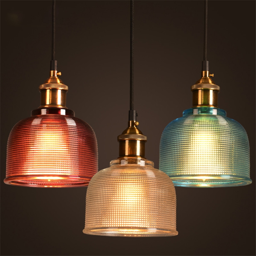 Brilliant Fashionable Coloured Glass Pendant Lights Regarding Popular Coloured Pendant Lights Buy Cheap Coloured Pendant Lights (View 16 of 25)