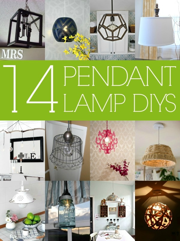Brilliant Fashionable Dodecahedron Pendant Lights In Remodelaholic 14 Great Diy Pendant Lights And Link Party (Image 8 of 25)