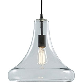 Brilliant Favorite Allen And Roth Pendants In Allen Roth Aged Bronze Pendant Light With Clear Glass Shade (View 22 of 25)