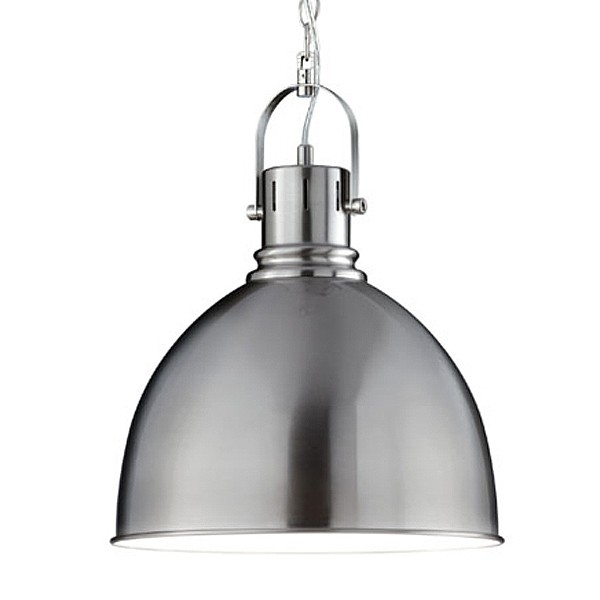 Brilliant Favorite Brushed Stainless Steel Pendant Lights Pertaining To Industrial Pendant Light (Image 7 of 25)