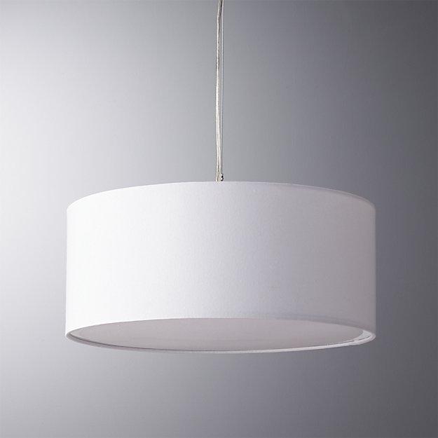 Brilliant Favorite Cb2 Pendant Lights Inside Eden White Pendant Light Cb (Image 5 of 25)