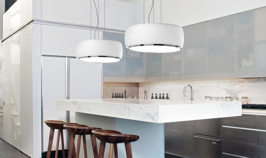 Brilliant Favorite Double Pendant Lights For Kitchen Within Kitchen Pendant Lighting Ideas Kitchen Pendant Guide At Lumens (Image 5 of 25)