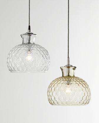 Brilliant High Quality Honeycomb Pendant Lights Pertaining To Urbanoutfitters Gt Honeycomb Glass Pendant Shade (Image 4 of 25)