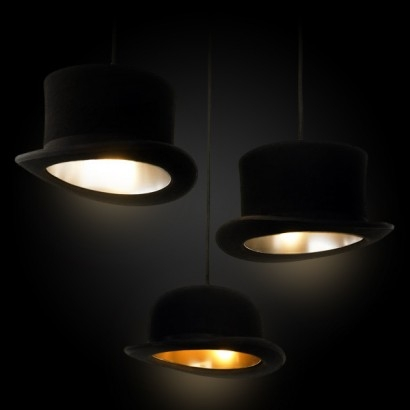 Brilliant High Quality Jeeves And Wooster Pendant Lights Within Jeeves Wooster Hat Pendant Light Shades (Image 4 of 25)
