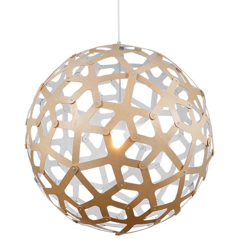 Brilliant Latest Coral Replica Pendant Lights In Replica David Trubridge Coral Pendant Paint White Globe Down (Image 7 of 25)