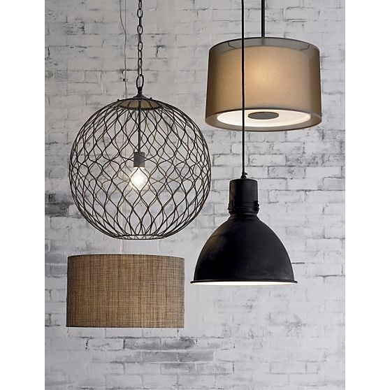 Brilliant New Crate And Barrel Pendant Lights Regarding 122 Best Lighting Images On Pinterest (Image 6 of 25)