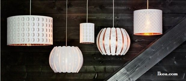 Brilliant Popular Ikea Drum Pendants Within Updating Ceiling Lighting Design Solutions Kgp (Image 6 of 25)