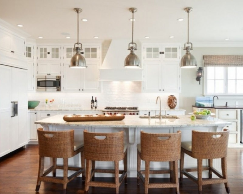 Brilliant Popular Pendant Lighting Brushed Nickel Pertaining To Brushed Nickel Pendant Lighting Kitchen Jeffreypeak (Image 6 of 25)