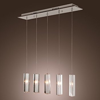 Brilliant Popular Stainless Steel Pendant Light Fixtures With Regard To Lightinthebox Stainless Steel 5 Light Mini Bar Pendant Light With (Image 5 of 25)