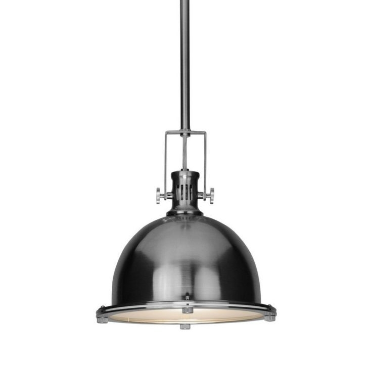 Brilliant Preferred Brushed Stainless Steel Pendant Lights For Stainless Steel Lighting Fixtures 18 Stainless Steel Lighting (View 12 of 25)