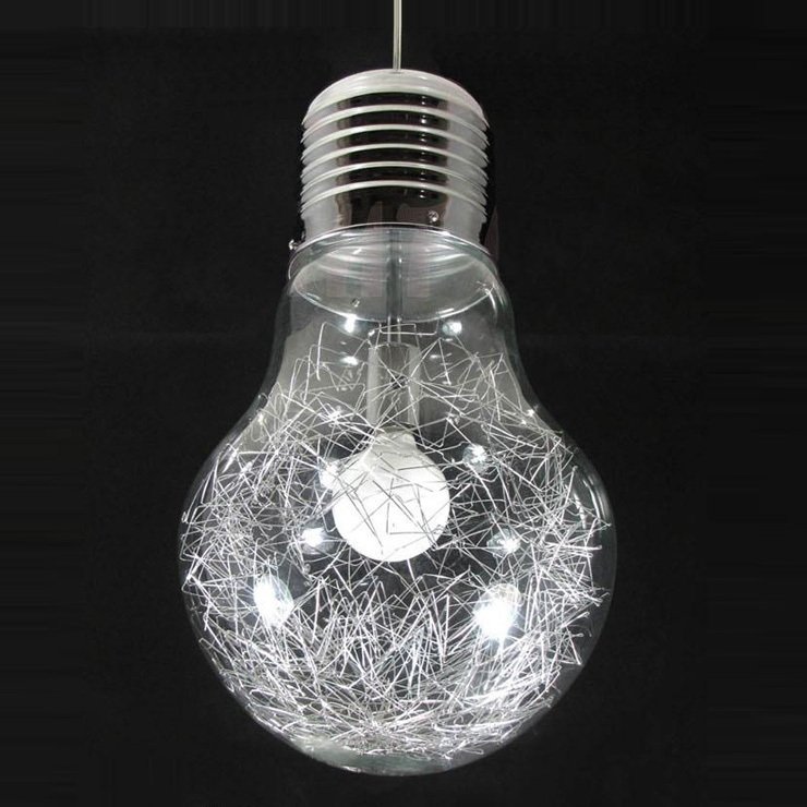 Brilliant Preferred Wire And Glass Pendant Lights Intended For Popular Lights Aluminum Wire Glass Balls Buy Cheap Lights Aluminum (View 25 of 25)