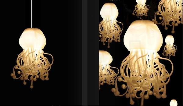 Brilliant Premium Jellyfish Inspired Pendant Lights Intended For Jellyfish Lighting Jellyfish Lights And Light Design (View 2 of 25)