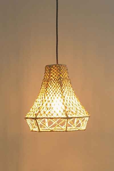 Brilliant Premium Macrame Pendant Lights In 17 Best Images About Lampefeber On Pinterest (Image 7 of 25)