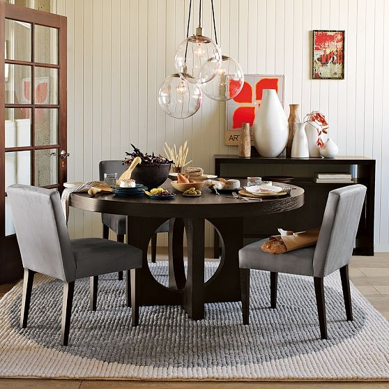Brilliant Series Of West Elm Cluster Pendants Pertaining To House Stuff Works The Dining Globe (Image 8 of 25)