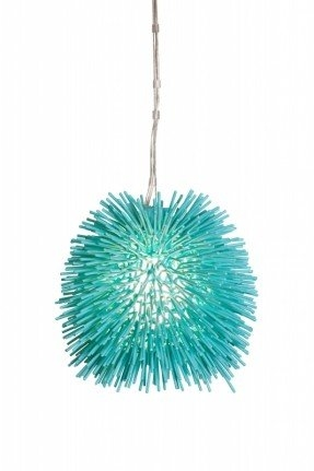 Brilliant Top Aqua Glass Pendant Lights In Aqua Pendant Lamp Foter (Image 1 of 25)