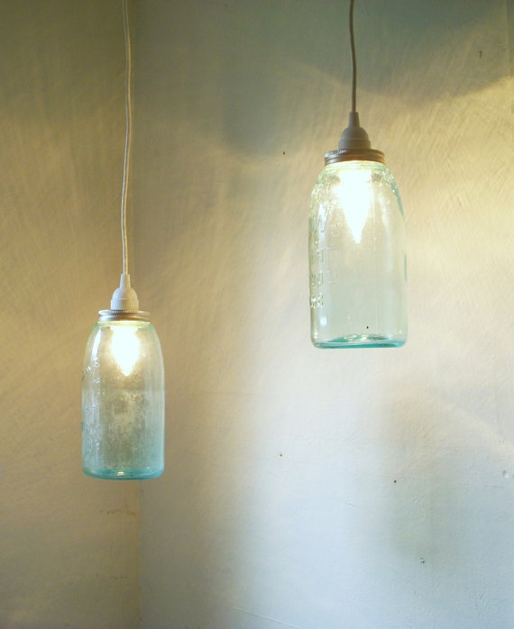 Featured Image of Aqua Glass Pendant Lights