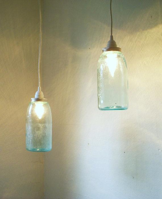 Featured Image of Aqua Glass Pendant Lights