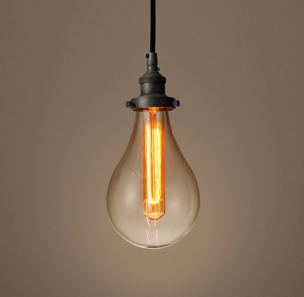 Brilliant Top Bare Bulb Filament Single Pendants With Regard To Bare Bulb Lighting Youthfulnest (View 2 of 25)