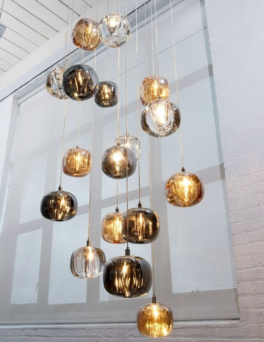 Brilliant Top Bolio Pendant Lights In Viso Cubie Pendant Lamp Surrounding (Image 7 of 25)