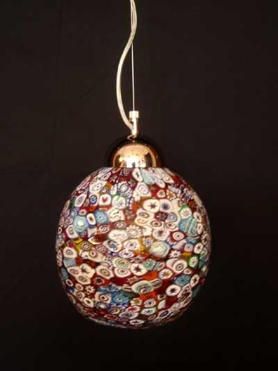 Brilliant Top Murano Glass Lighting Pendants Intended For Murano Glass Lighting Murano Glass Millefiori Murano Glass (Image 7 of 25)