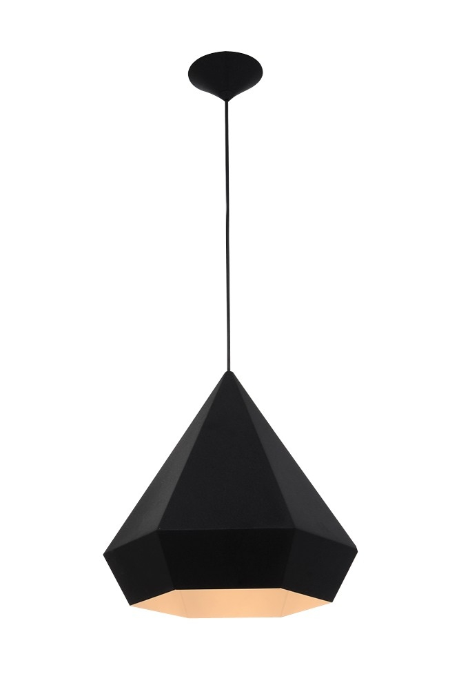 Brilliant Top Replica Pendant Lights Intended For Sebastian Scherer Diamond Pendant Lamp In Black Chrome Gold Or (Image 3 of 25)